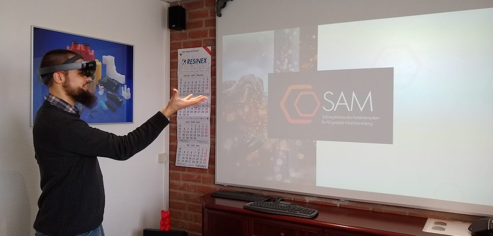 coSAM Augmented Reality bei KVK